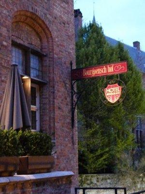 My hotel Bruges