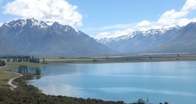 Lake Ohau, central South Island NZ