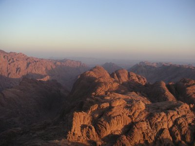 Dawn at Mount Sinai