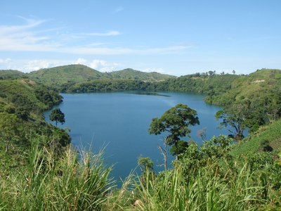 A random crater lake.