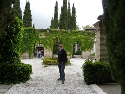 Steve at a random Palace/Museum we found on our wanderings