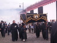 Procession in Antigua
