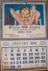 January 1939 Calendar