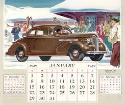 January 1930 Calendar