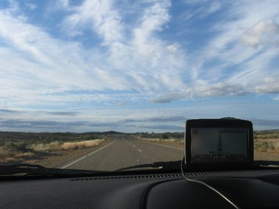 Edwina, our GPS, was invaluable - but sometimes wrong