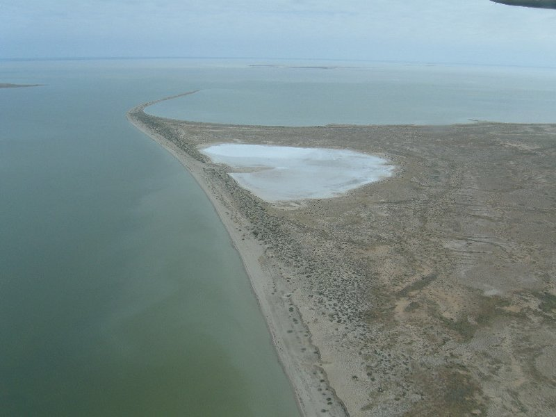 Stingray Island, Lake Eyre