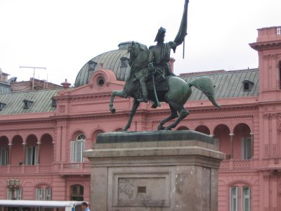 General Belgrano Monument - Casa Rosada, Buenos Aires