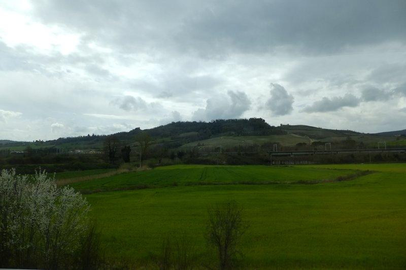 Hills outside Rome