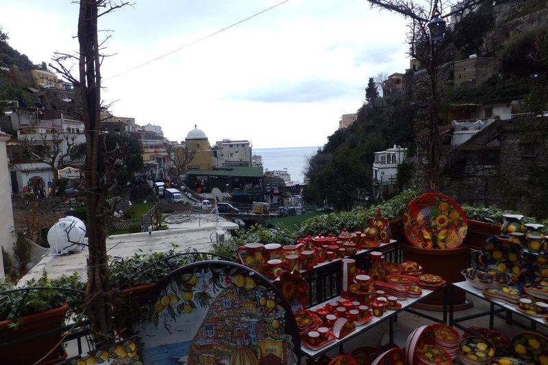 Bright little Shop in Positano