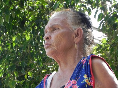 Old lady - Santiago