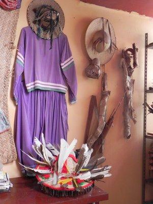 Traditional Huichol costumes - Santiago