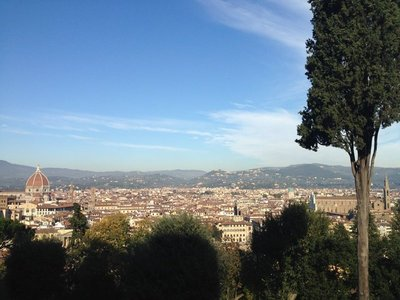 View across Florence from Bardini Gardens