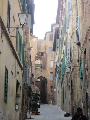 Siena street view