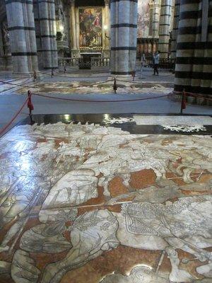 Floor of Siena Cathedral