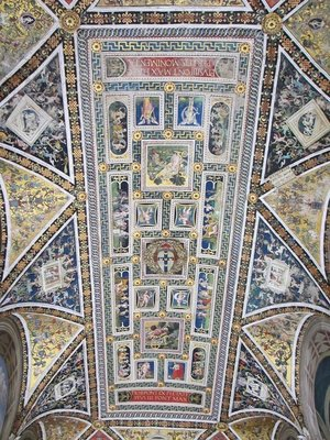 Ceiling of Libreria Piccolomini, Siena Cathedral
