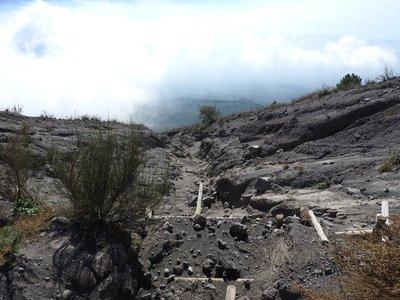 Slip, Vesuvius