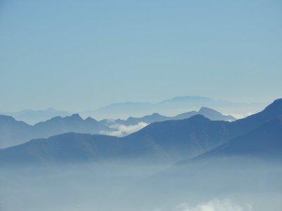 From Vesuvius to Lattari Mountains