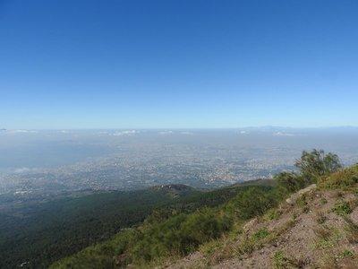 Bay of Naples from Vesuvius
