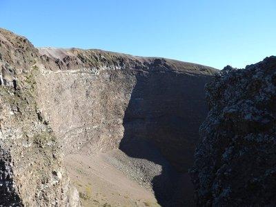 Crater, Vesuvius