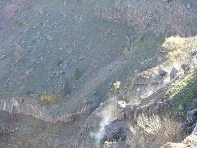 Steam vent, Vesuvius