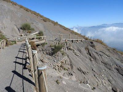 Track over slip, Vesuvius