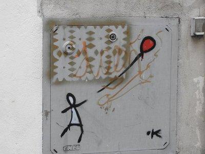 Exit/Enter street art