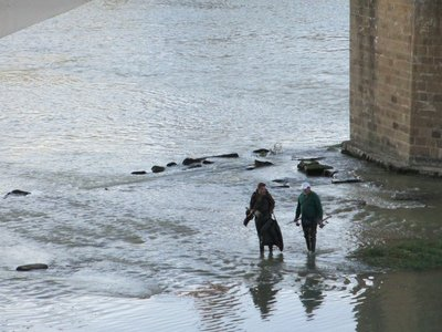Arno fishermen
