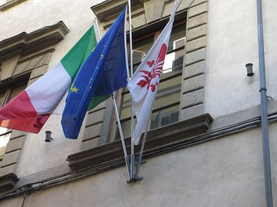 Flags of Italy, Europe & Florence