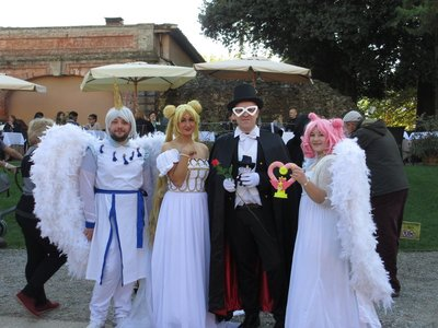 Cosplay characters, Lucca