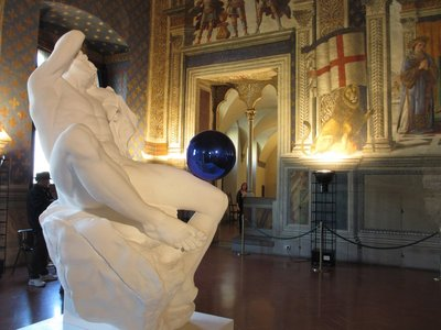 Gazing Ball, Jeff Koons