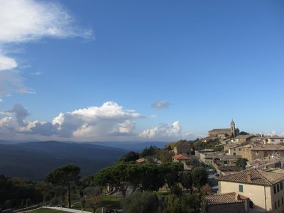 View from Montalcino Fort