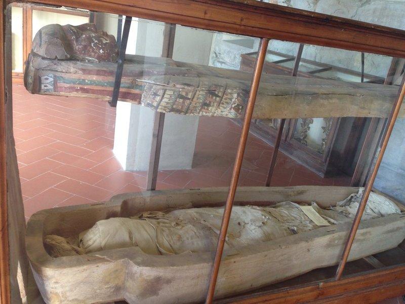 Egyptian mummy, Missionary Museum, Fiesole