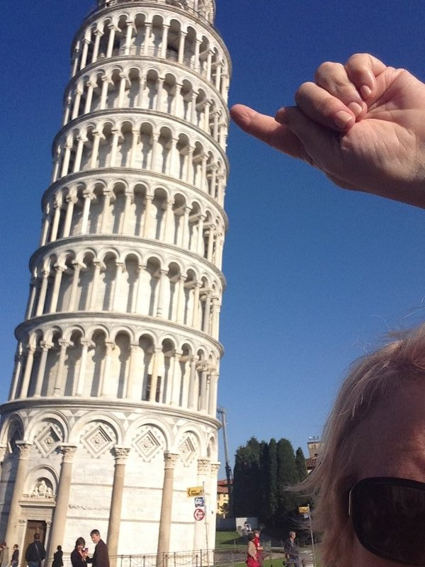 Quintessential Holding up the Tower pic