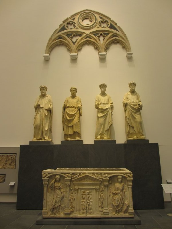 Sculptures at Museo dell'Opera