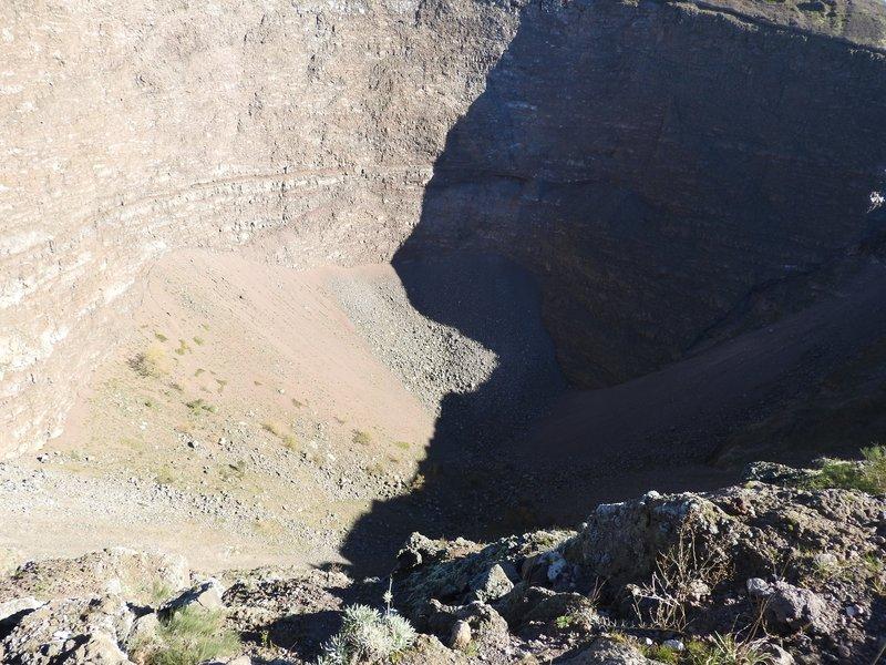 Bottom of the crater, Vesuvius