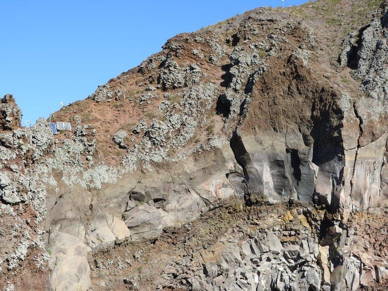Crater's edge, Vesuvius