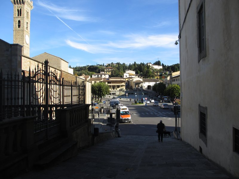 Fiesole town square