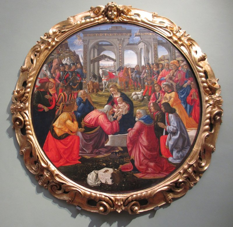 Adoration of the Magi, Domenico Ghirlandaio