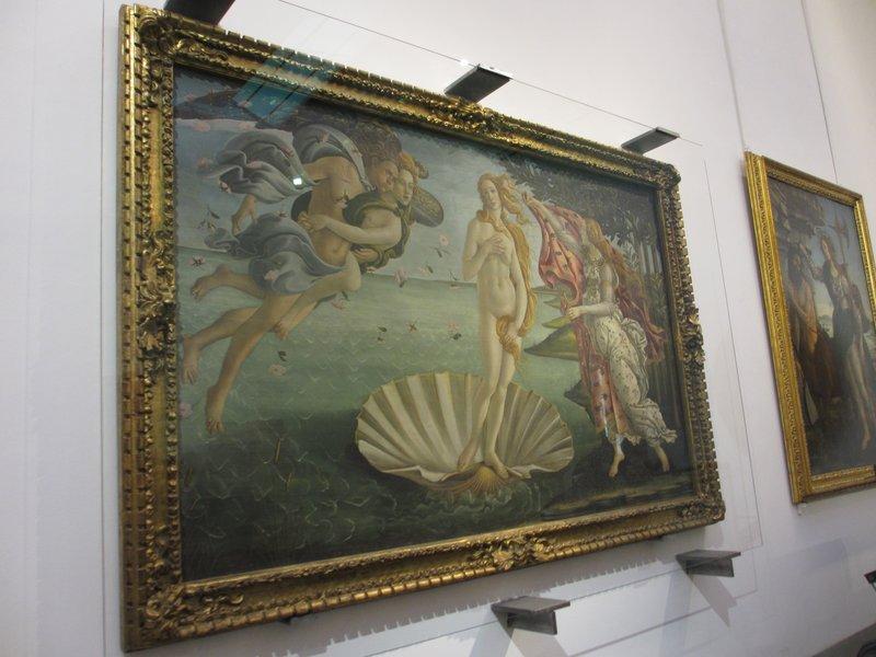Boticelli's Birth of Venus