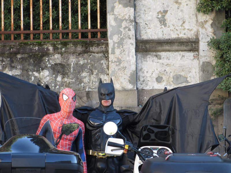 Batman & Spiderman, Lucca Comica