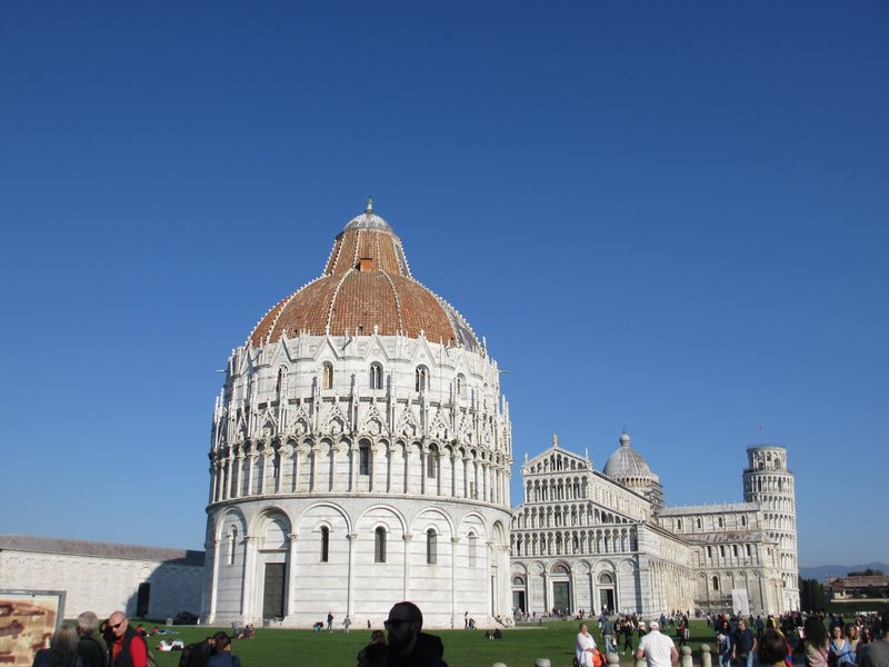 Baptistery & Cathedral, Pisa