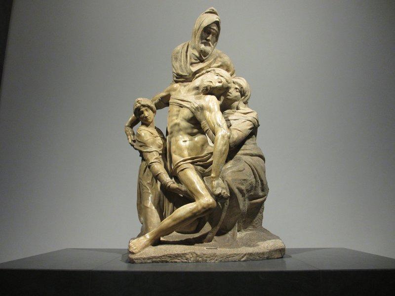 Michelangelo's final pieta