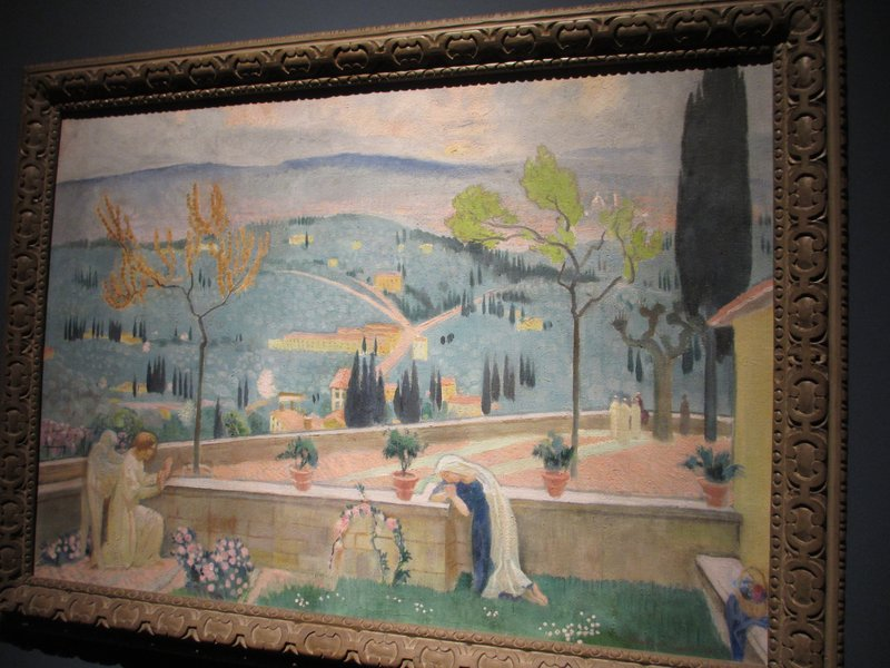 Maurice Denis, Annuciation at Fiesole