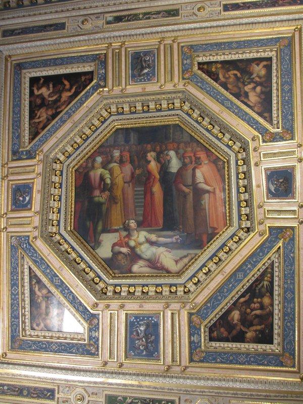 Ceiling detail, Palazzo Vecchio