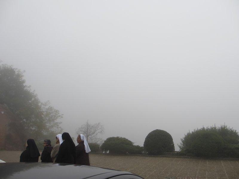 Siena fog view