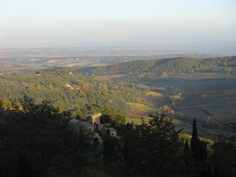 View at Montepulciano