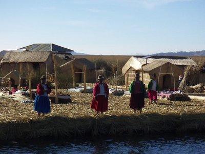 Isla Amanecer, Lake Titicaca