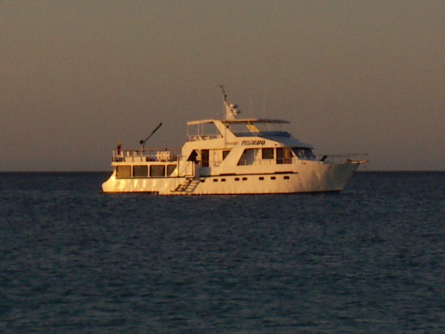 Yacht Floreana, Galapagos Islands