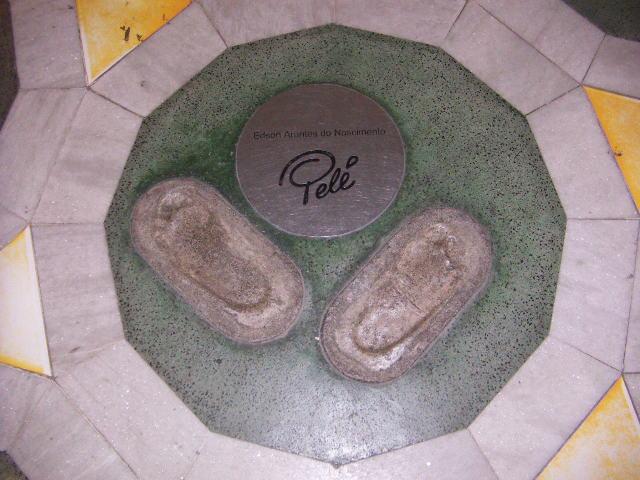 Pele woz 'ere, Maracana Stadium, Rio
