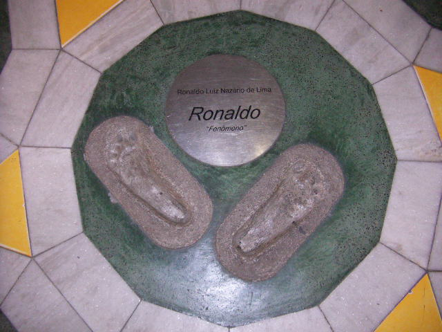 Ronaldo woz 'ere, Maracana Stadium, Rio